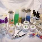 Средства для наращивания ногтей дома