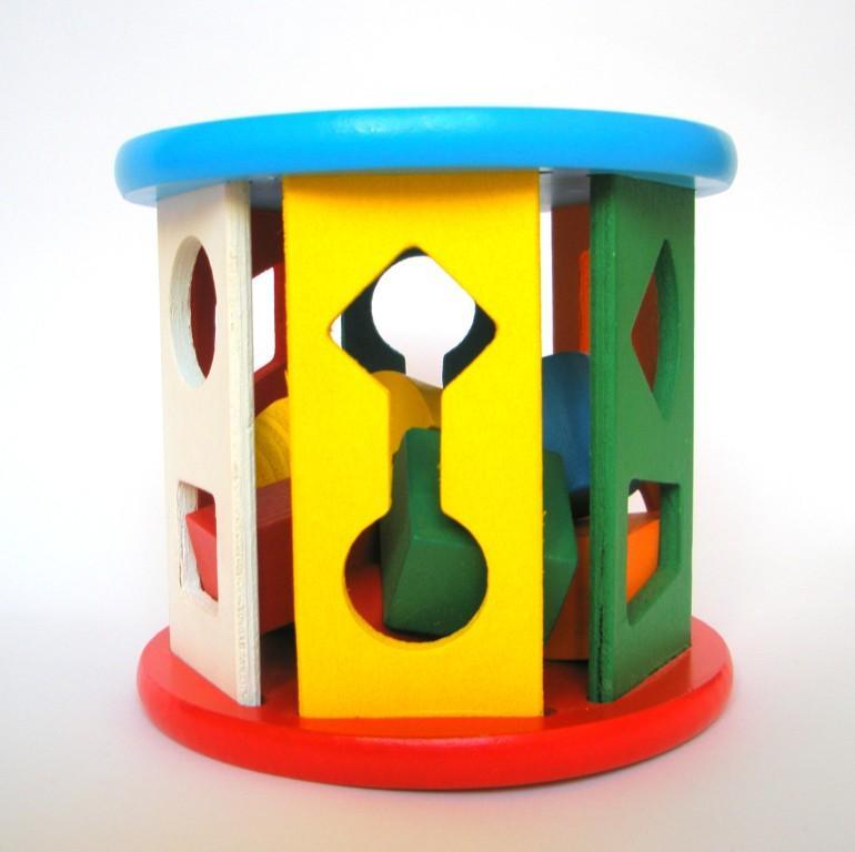 Деревянные игрушки - сортер