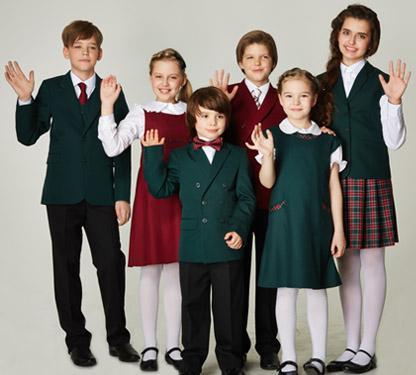 Школьная форма на 1 сентября - модный цвет