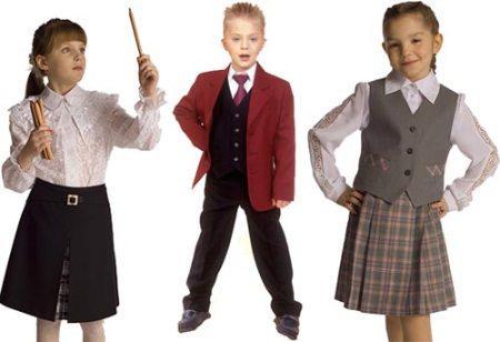 Одежда на 1 сентября для мальчиков - цвет формы