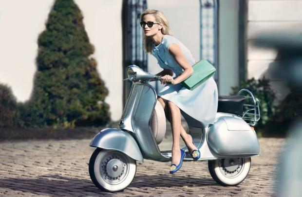 Модные туфли без каблука на лето-осень  2013 - Слипперы