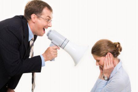 Что делать, если начальник орет на подчиненных