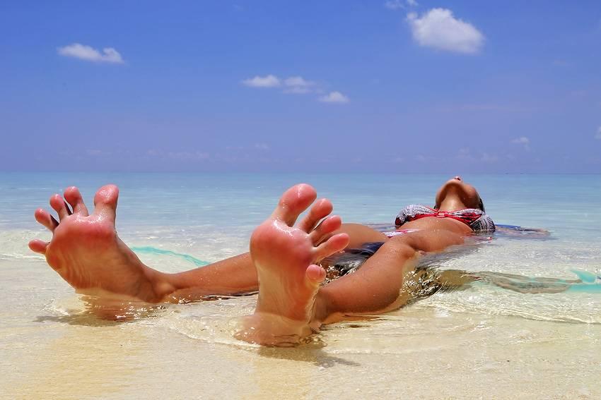 Список вещей в отпуск - пляжные принадлежности