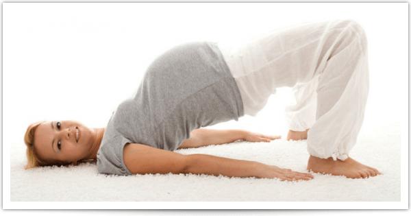 Тазовое предлежание плода – упражнения