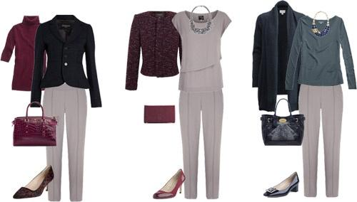 Капсульный гардероб осень 2013