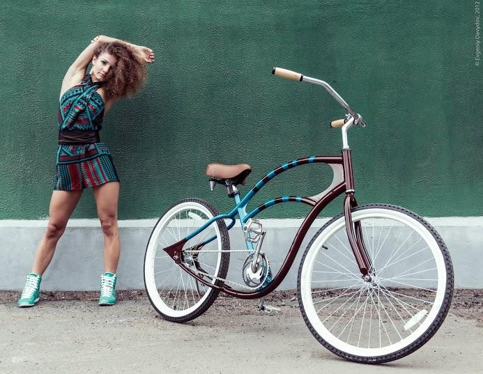 Женский велосипед круизер