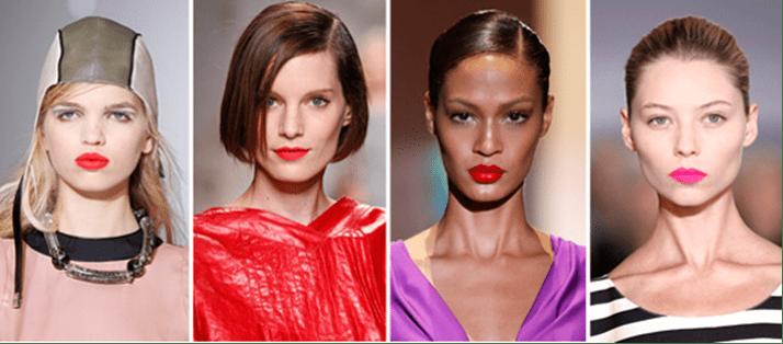 Как правильно подобрать красную помаду под макияж
