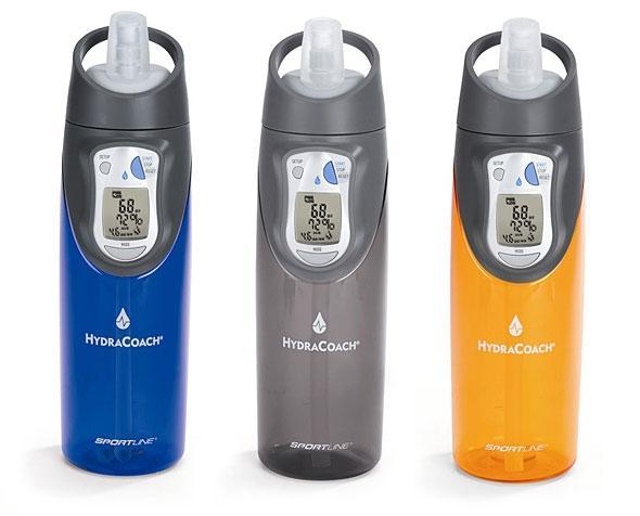 Интеллектуальная бутылка для воды Waterbottle Sportline HydraCoach Intelligent