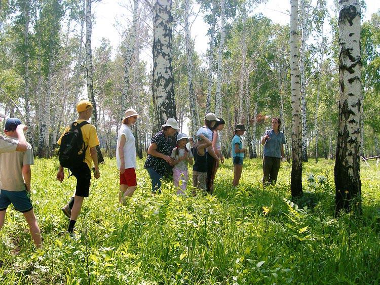 Основные типы туристов - экотуристы