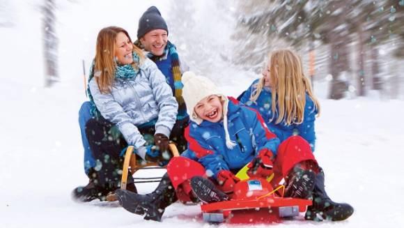 Зимние каникулы 2014 с детьми