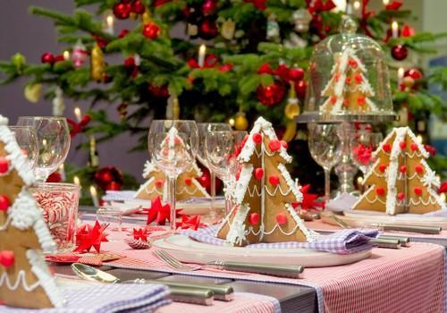 Украшение и сервировка новогоднего стола 2014