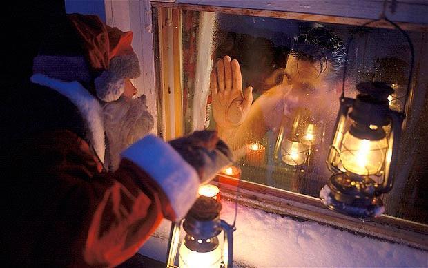 Новый год в сауне или бане