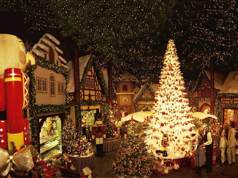 Рождественская ярмарка в Ротенбурге