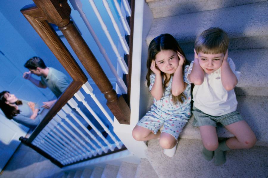 Семейные конфликты и дети