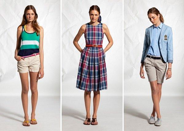 Стиль преппи в одежде для девушек