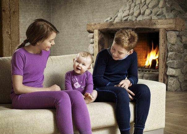 Как правильно выбрать термобелье детям?