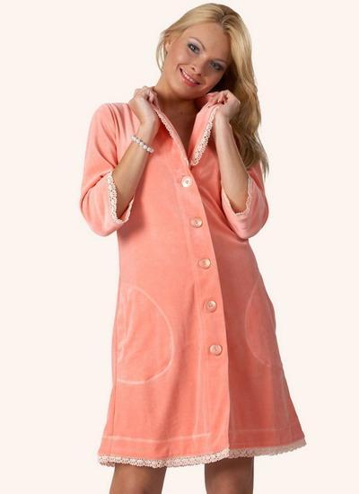 Модная женская одежда для дома - халаты