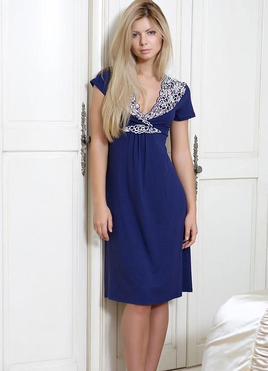 Модная женская одежда для дома - домашние платья