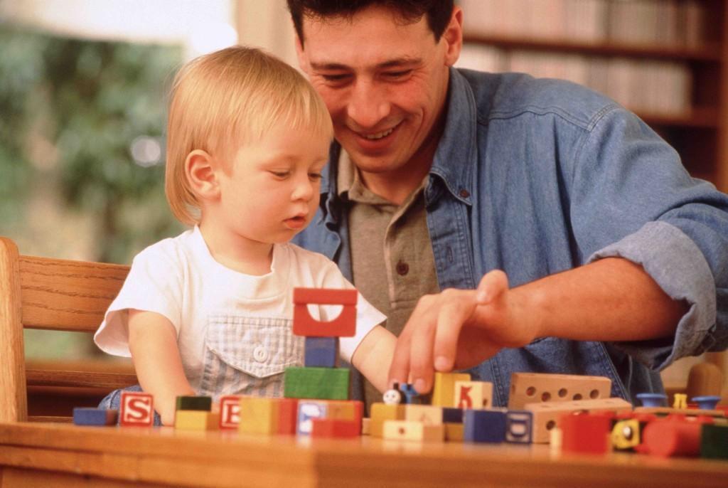 Лучшие игры папы и ребенка до 3 лет