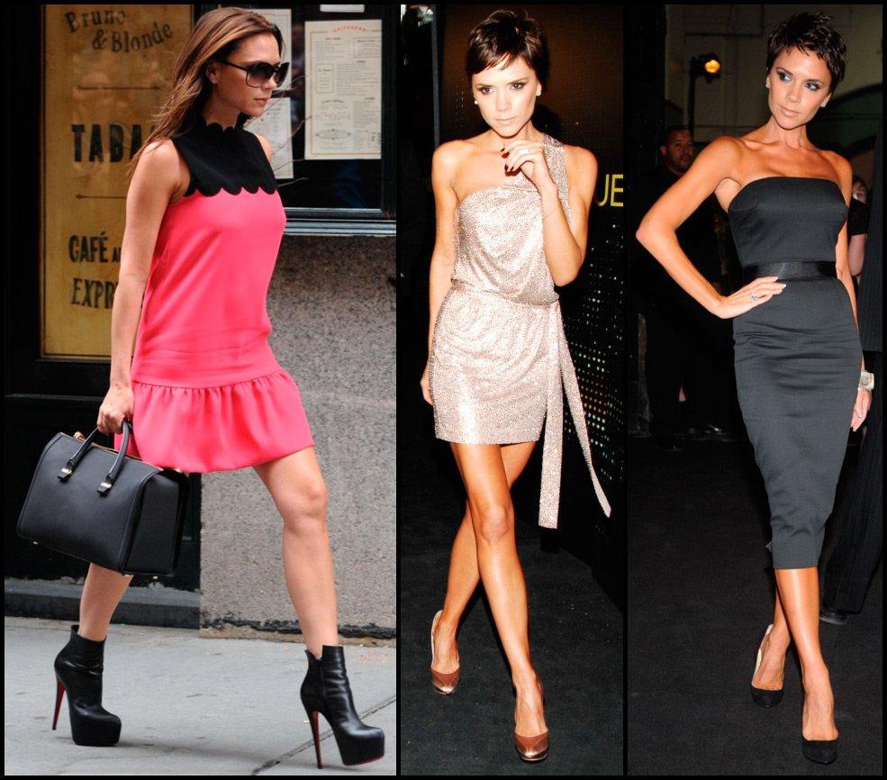 Как выбрать свой стиль - примеры Виктории Бэкхэм