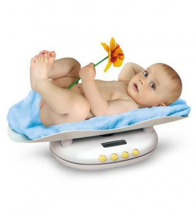 Набор для кормления новорожденного - весы