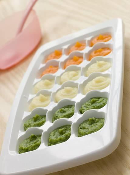 Набор для кормления новорожденного - ёмкости для льда