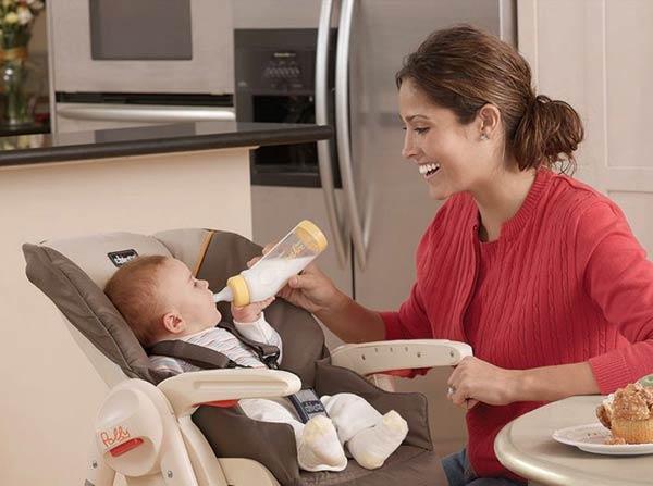 Набор для кормления новорожденного - стульчик для кормления