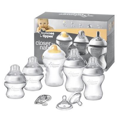 Набор для кормления новорожденного - бутылочки с сосками