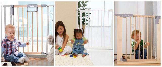 Безопасность детей дома - ворота безопасности и перегородки