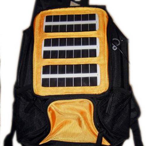 Электронные гаджеты для ребенка 10 лет - Рюкзак с солнечной панелью