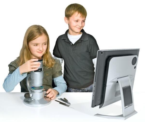 Электронные гаджеты для ребенка 10 лет - Цифровой микроскоп