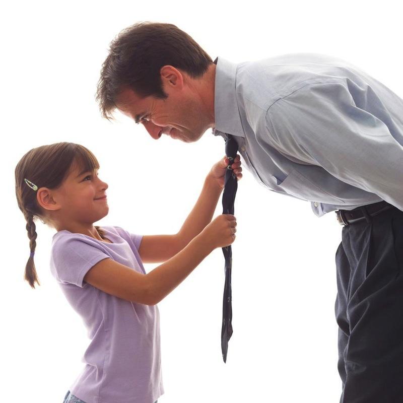 Как сдружить ребенка с новым папой