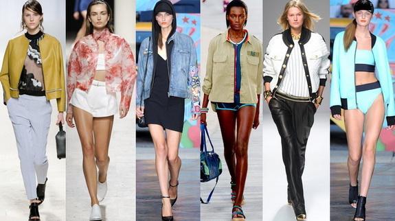 Модные женские куртки для весны 2014 года