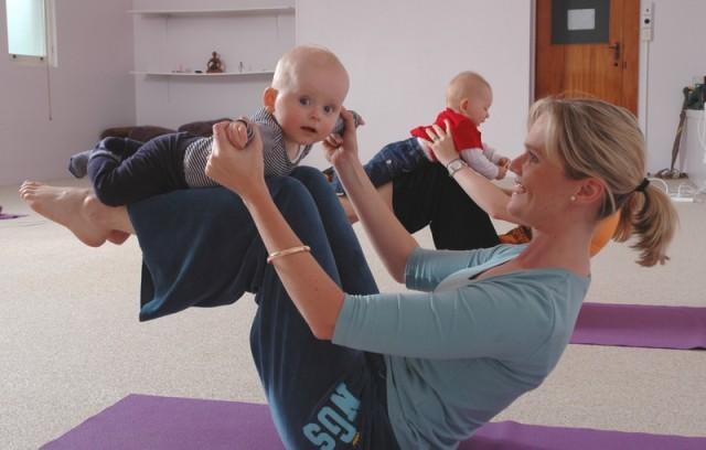 Бэби-йога для новорожденных Франсуазы Фридман