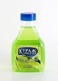 Лаймовая пена для ванн КУРАЖ