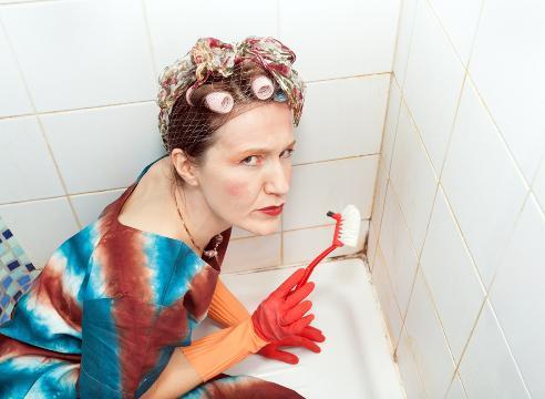 Как чистить межплиточные швы