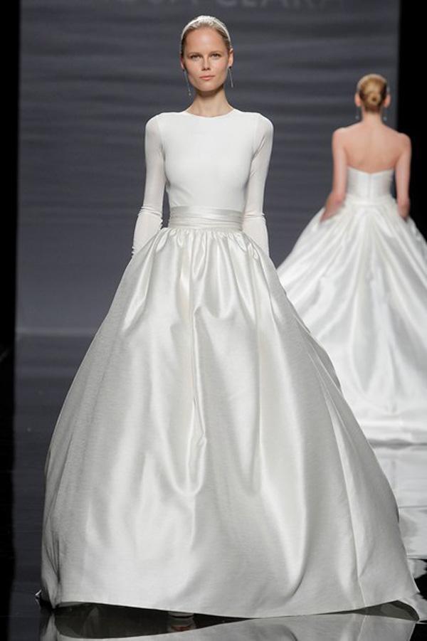 Модные свадебные платья 2014 года