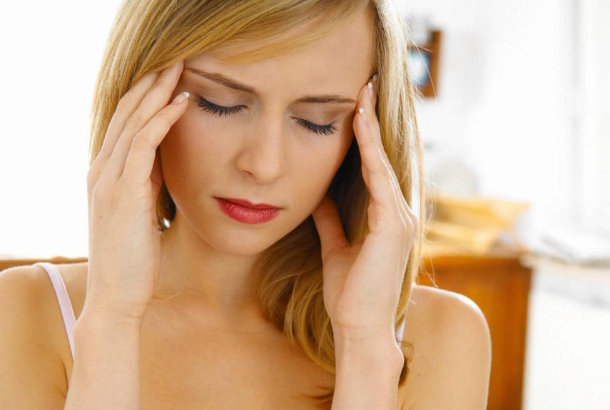 Женщина стресс