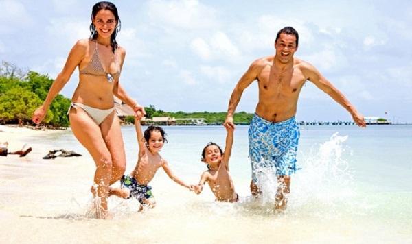 семья-на-море