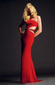 красный в моде