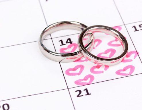 Лучшие дни для бракосочетания в 2019 году