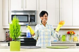 Как отмыть жир на кухонной бытовой технике
