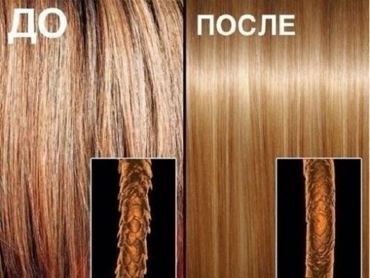 Биоламинирование волос