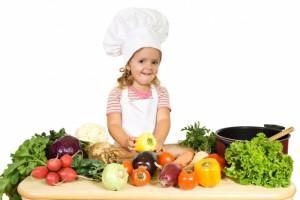 Рецепты для детей - а ваши дети готовят еду сами?
