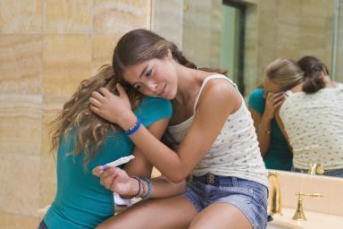 Как сказать родителям девочке-подростку о беременности?