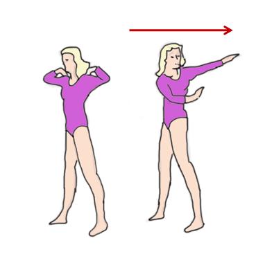Упражнение 4 для укрепления мышц спины