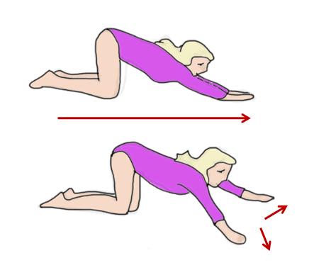 Упражнение 7 для укрепления мышц спины