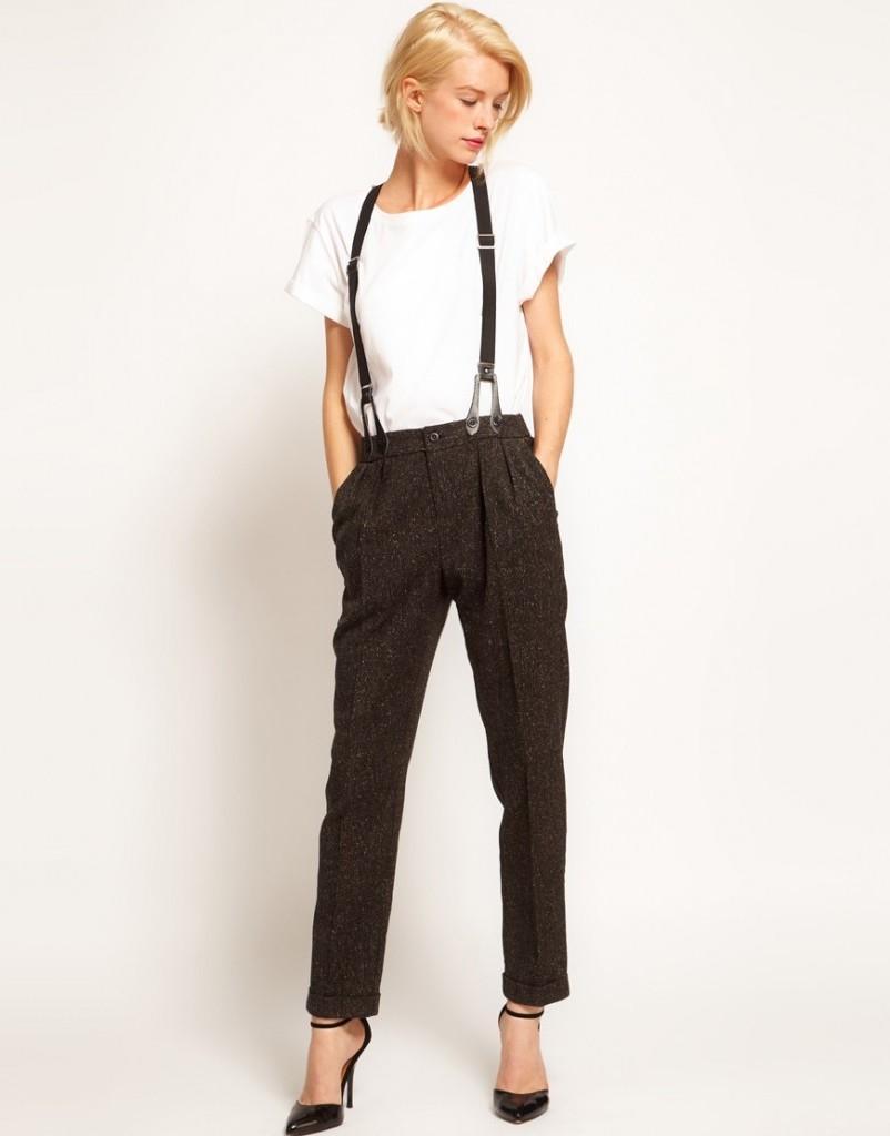 Подтяжки для брюк с завышенной талией
