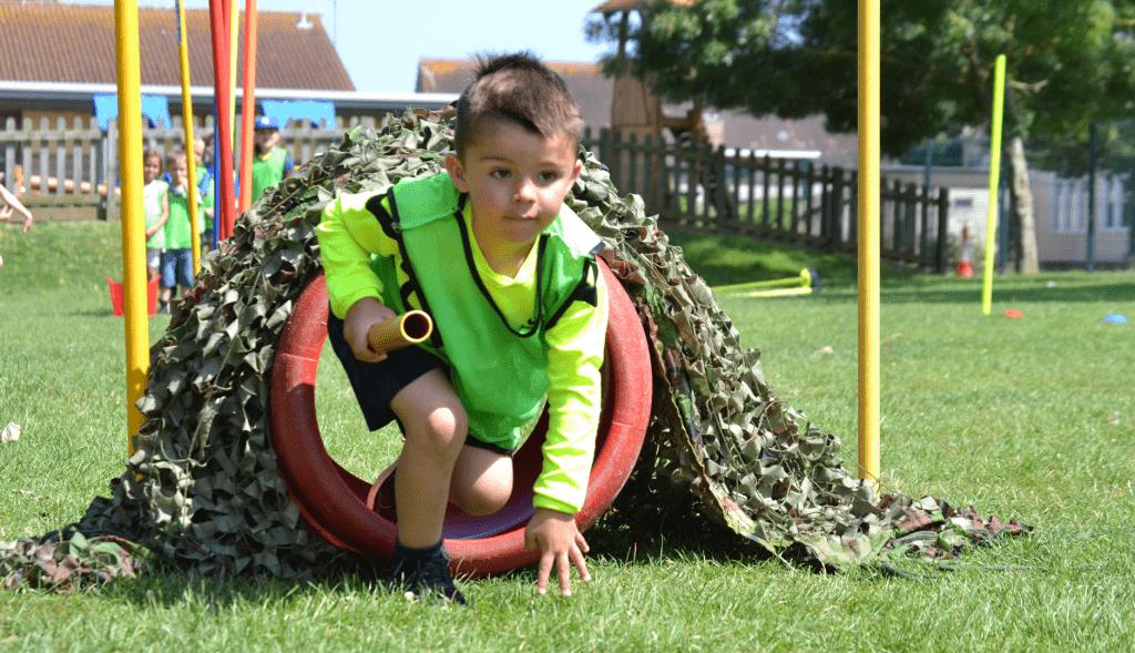 Секция ОФП для мальчика 4-7 лет