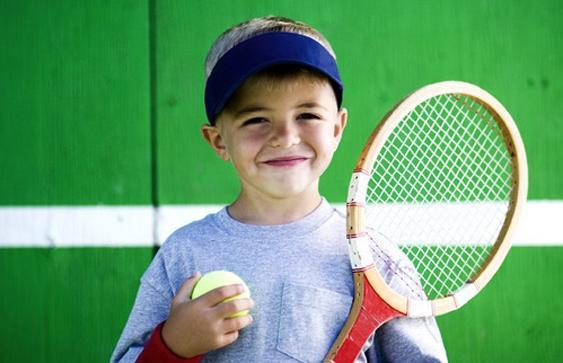 Большой теннис для мальчика 4-7 лет